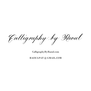 Calligraphy by Raoul_Square